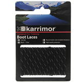 Karrimor Shoe Laces Black/Charcoal
