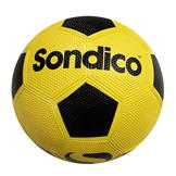 Slazenger Rubber Balls Football Yellow