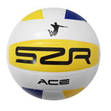 Slazenger Rubber Balls Volley Ball Yellow