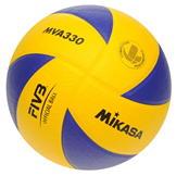 Mikasa MVA 330 Volleyball Blue/Yellow