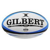 Gilbert Omega Rugby Ball White/Blue
