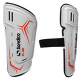 Sondico Flair Slip Shinguards White/Black