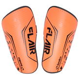 Sondico Flair Slip Shinguards Fluo Orange