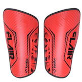 Sondico Flair Slip Shinguards Fluo Red