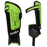 Sondico Flair XT Shinguards Green/Black