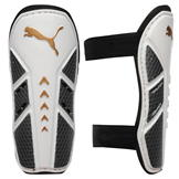 Puma Pro Training 2 Shin Guards Mens White/Black