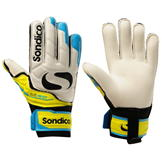 Sondico Elite Protech Goalkeeper Gloves Junior White/Yellow