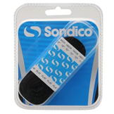 Sondico Flat Football Boot Laces Black