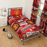 Team Football Single Duvet Set Man Utd