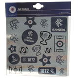 Team Football Foil Print Stickers Rangers