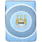 Team Fleece Blanket Man City