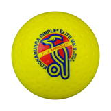 Kookaburra Dimple Elite Hockey Ball Yellow