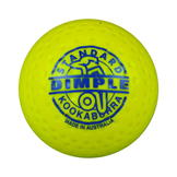 Kookaburra Dimple Standard Hockey Ball Adults Yellow