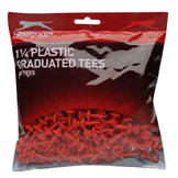 Slazenger Graduated Tees Bumper Pack Red 180pk