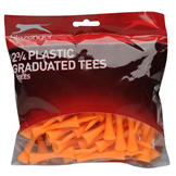 Slazenger Graduated Tees Bumper Pack Orange 70pk