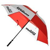 Wilson Dual Canopy Golf Umbrella Red