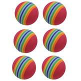 Dunlop 6pk Foam Balls -