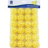 PGA Tour 24 Prac Balls 00 Yellow