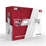 Wilson Staff Ti DNA 12 Pack Golf Balls White