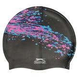 Slazenger Print Silicone Cap Black/Pink/Blue