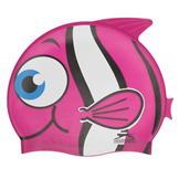 Slazenger Kids Fun Silicone Cap Pink Fish