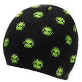 No Fear Beanie Hat Infant Boys Black/Green