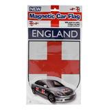 Winston England Car Magnet White/Red